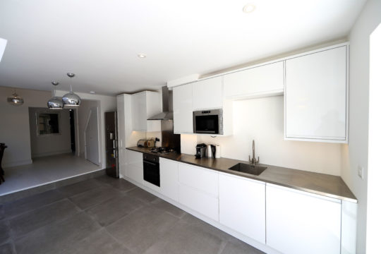 Rose Line Construction Kitchen Fit out
