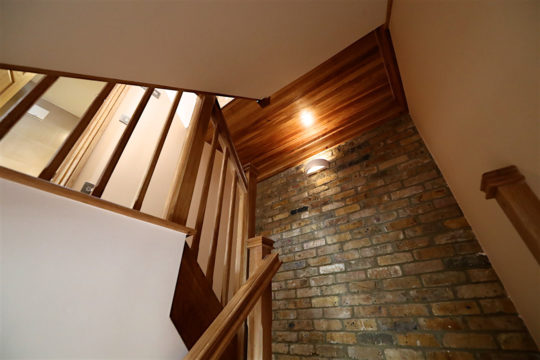 Rose Line Construction - Wooden Staircase