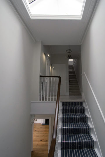 Period property first floor landing refurbishment