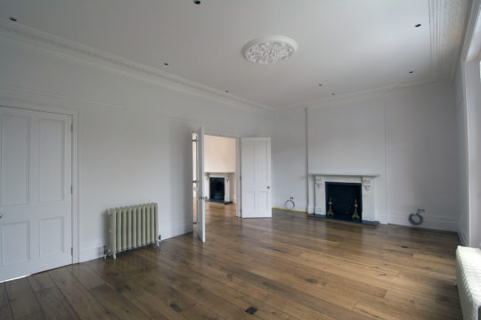 Period property lounge refurbishment